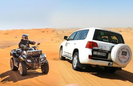 Combo Desert Safari 4x4 and Quad Dubai