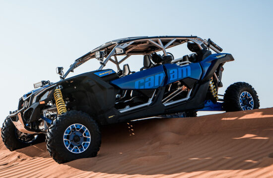 Buggy CAN AM Maverick 1000 CC 4 Seats Dubai