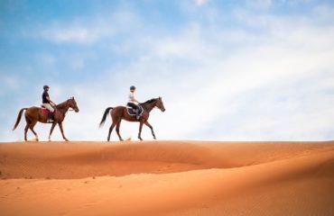 DUBAI HORSE RIDE