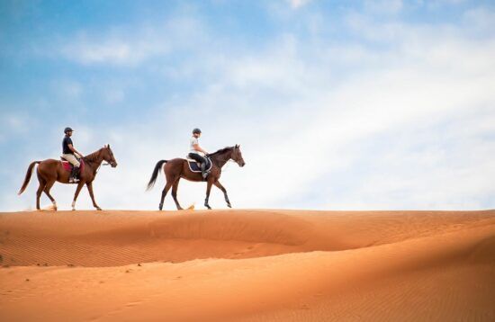 DUBAI HORSE RIDE