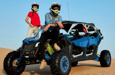 Buggy CAN AM Maverick 1000 CC 4 Seats Dubai