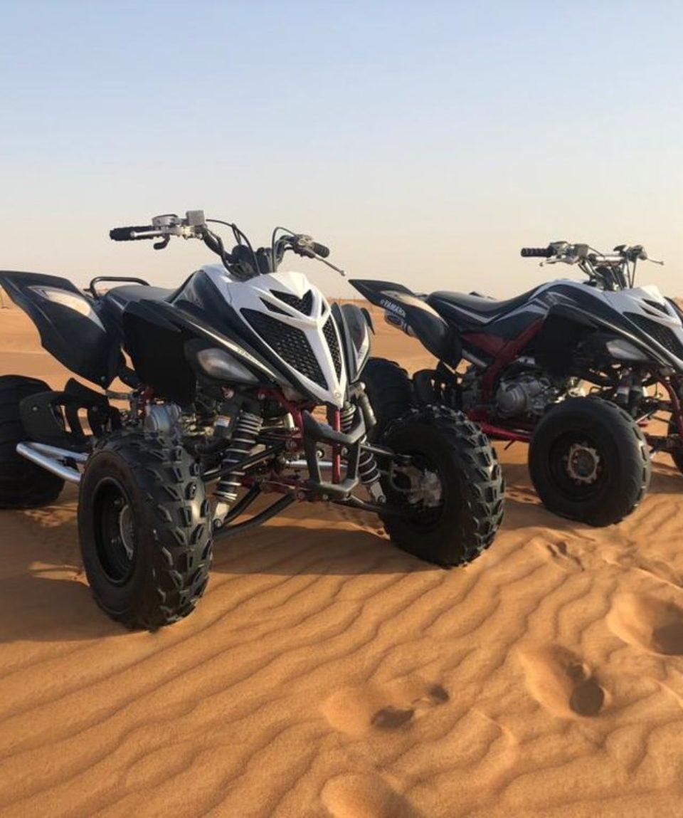 Desert Quad Dubai Raptor