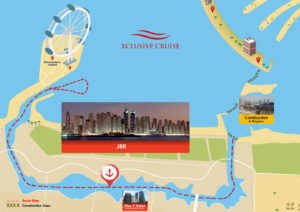 Dhow Dinner Cruise Map