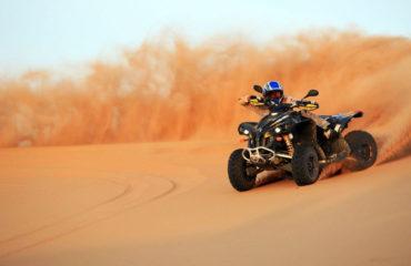 Quad auto Dubai Desert